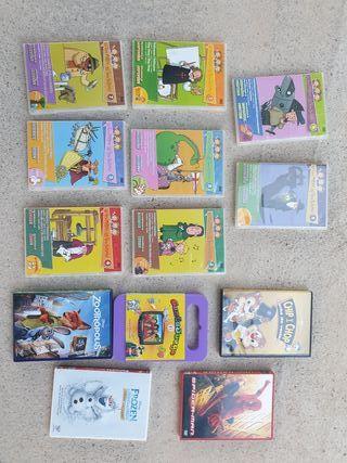 colección de DVD infantiles