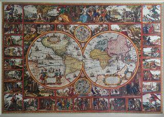 Cuadro puzzle enmarcado