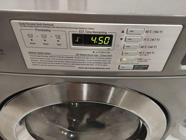 lavadora industrial LG nueva