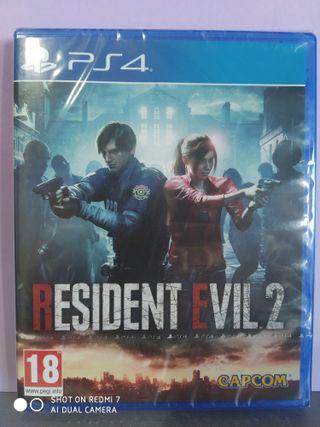 Resident Evil 2 NUEVO Ps4
