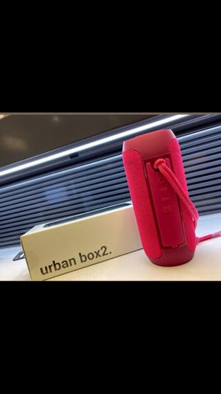 Altavoz urban box 2