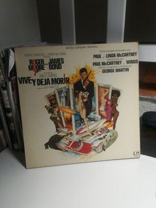 Vive y deja morir banda sonora LP