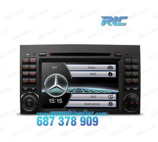 """RADIO NAVEGADOR 7"""" MERCEDES USB GPS TACTIL HD"""