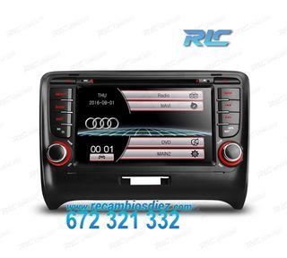 """RADIO NAVEGADOR 7"""" AUDI TT USB GPS TACTIL HD"""