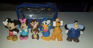 Lote 6 figuras de Disney Mickey y sus amigos