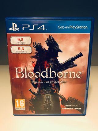 Bloodborne Edición Juego del año / Ps4