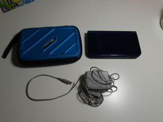 Nintendo 3DS XL+cargador+funda con departamento