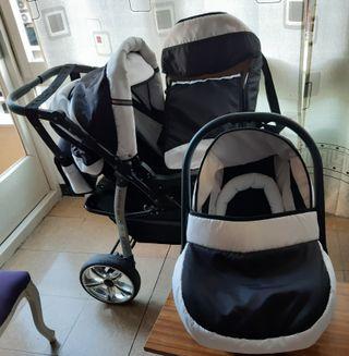 Coche de bebé, 3 piezas marca Sportive
