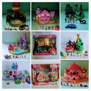 Polly Pocket Disney Bluebird Mattel 1990 Vintage