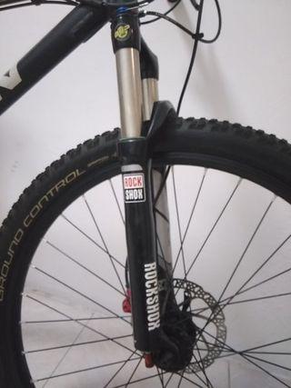 "Bicicleta mtb 26"" mejorada"