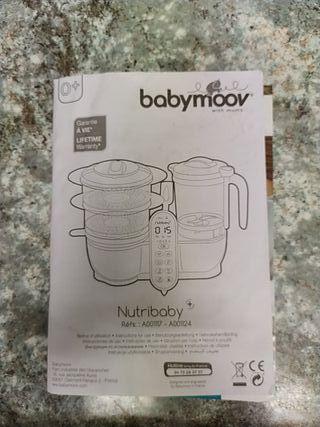Robot de cocina evolutivo Babymoov Nutribaby
