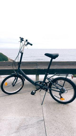 Bicicleta plegable Moma Bikes 6 velocidades