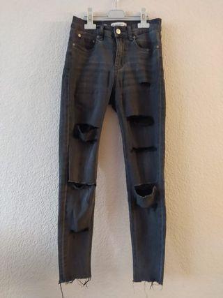 pantalons pull&bear pitillo