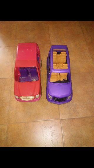 coche fin de semana y limusina barbie