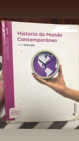 LIBRO HISTORIA DO MUNDO CONTEMPORÁNEO