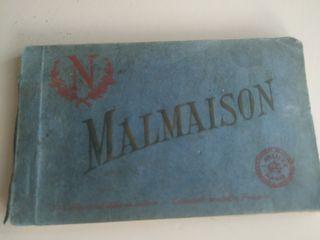 Bloc talonario de postales de La Malmaison Francia