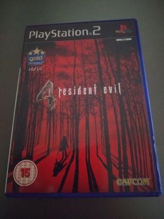 Resident Evil 4 PlayStation 2