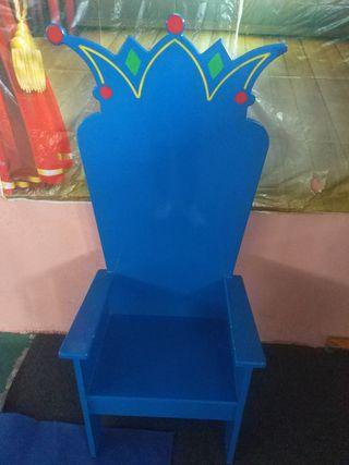 trono infantil