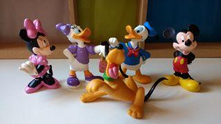 Figuras Donald, Daysi, Pluto, Minnie, Mickey Mouse