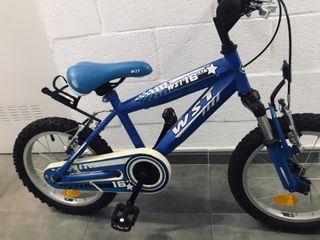 Bicicleta WST de niño/a. 16 pulgadas.