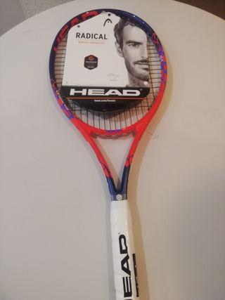 Raqueta de tenis nueva