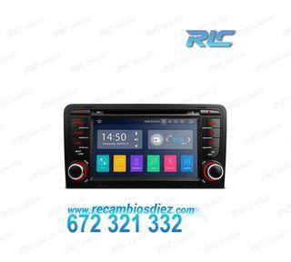 "NAVEGADOR LCD TÁCTIL 7"" AUDI A3 8P ANDROID 9.0 2GB"