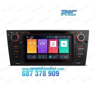 "RADIO NAVEGADOR ANDROID 8.0 OREO 7"" BMW E90/91/92/"