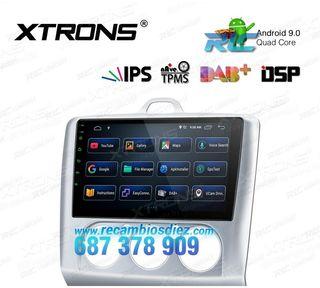 """RADIO PANTALLA TÁCTIL GPS 9"""" FORD"""