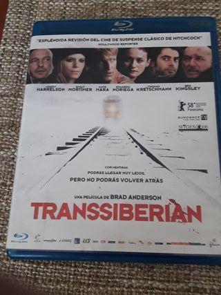 "Pelicula Blu-ray, ""Transsiberian"""