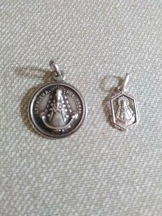 Medallas plata.
