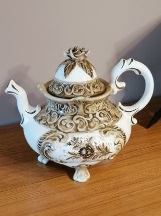 tetera porcelana vintage
