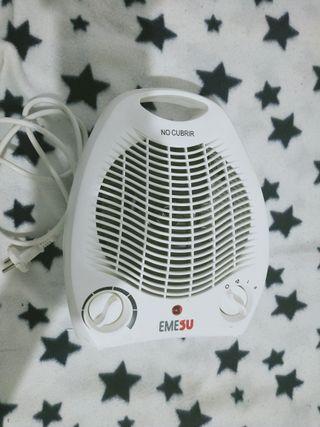 2 en 1 calefactor y también ventilador