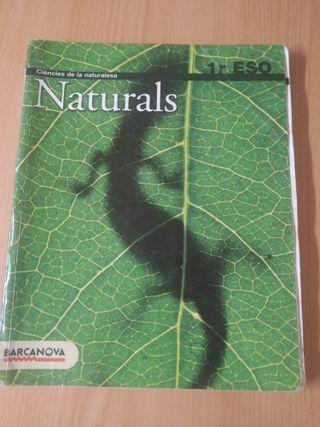 Naturals 1r ESO. Barcanova