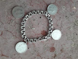 pulseras plata