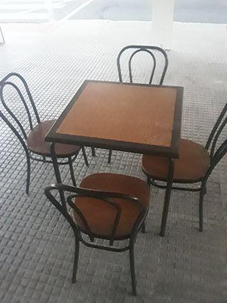 lote de 7 mesas complita