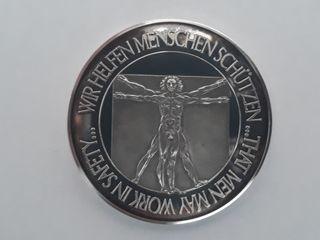 Medalla plata, MSA-AUER