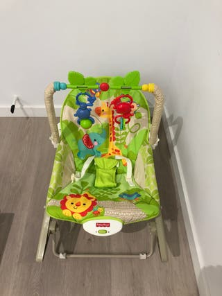 Hamaca 3 en 1 monitos divertidos Fisher Price