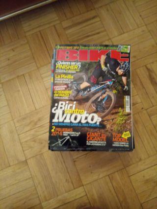 Lote revistas Bike