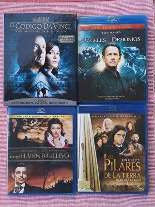 Pack de películas Blu-ray