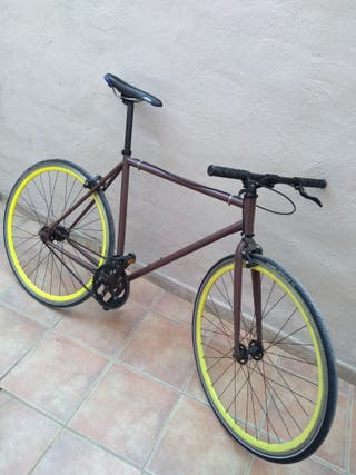 bicicleta fixie o single speed