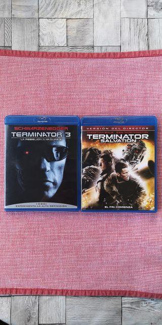 Películas Terminator Blu-ray