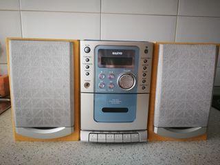 Cadena música. Radio, cassette y CD