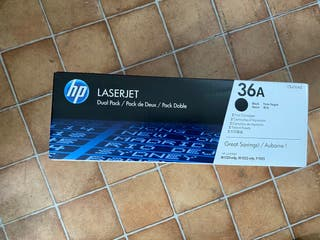 Toner Original Pack Duo Hp 36A