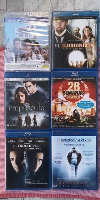 Pack películas Blu-ray