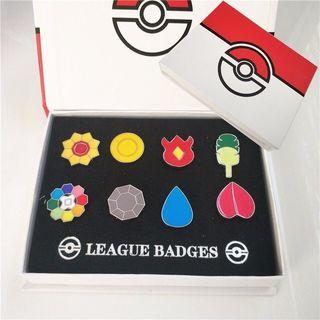 Medallas Pokémon (Set completo) - Pokemon