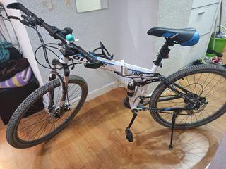 bicicleta MTB plegable
