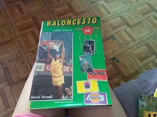 Álbum cromos baloncesto 88