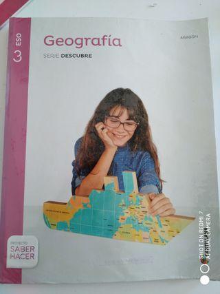 Geografía. Serie Descubre. Ed Santillana.