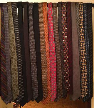 Lote de 20 corbatas