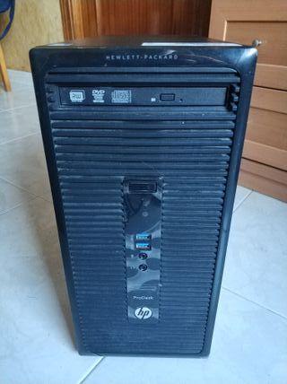Ordenador (torre HP ProDesk) con Windows 10